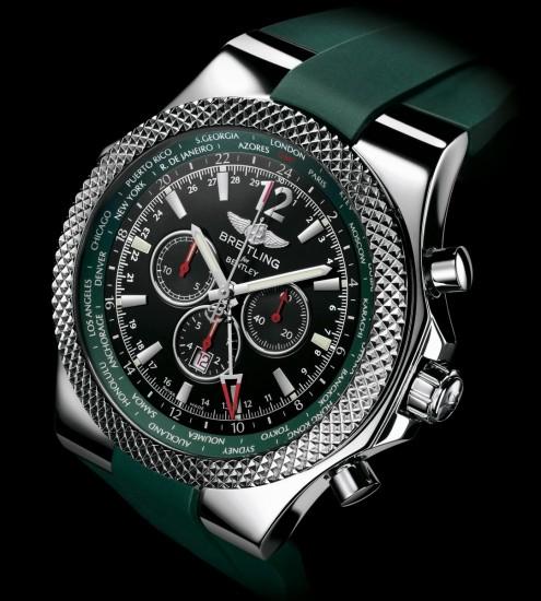 Breitling Bentley Gmt Wristwatches: Breitling Wrist Watch News: Montbrillant 01 Limited