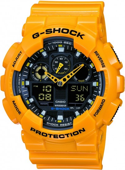 Casio G-Shock GA100A-9A