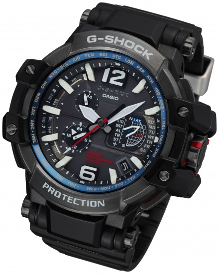 Casio Unveils Gps Enabled G Shock Gpw1000 And Bluetooth Enabled