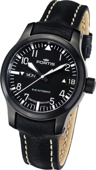 Fortis B-42 Flieger Black Big Date