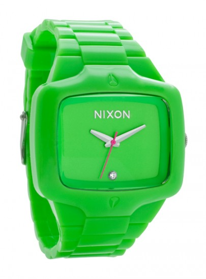 Nixon Fluro Player Green