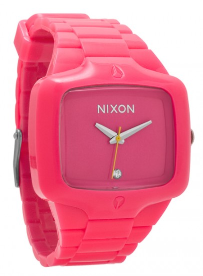 Nixon Fluro Player Pink