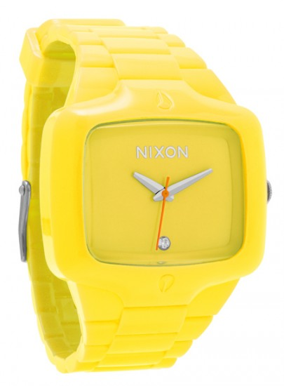 Nixon Fluro Player Yellow