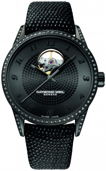 Raymond Weil Freelancer Lady Urban Black