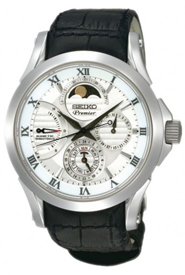 Seiko Kinetic Direct Drive Moon Phase, SRX003P1
